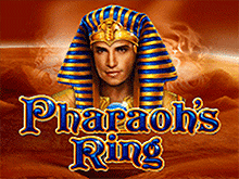 Игровой автомат онлайн Pharaoh's Ring в клубе Вулкан
